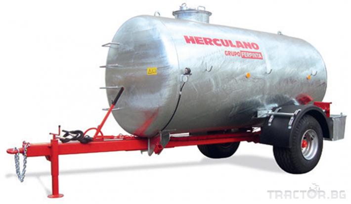 Ремаркета и цистерни Ремаркета и цистерни Herculano 7 - Трактор БГ