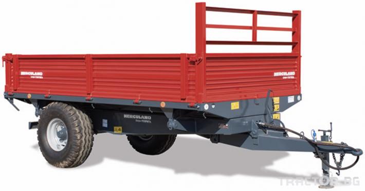 Ремаркета и цистерни Ремаркета и цистерни Herculano 8 - Трактор БГ