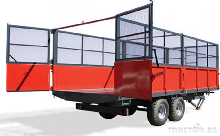 Ремаркета и цистерни Ремаркета и цистерни Herculano 11 - Трактор БГ