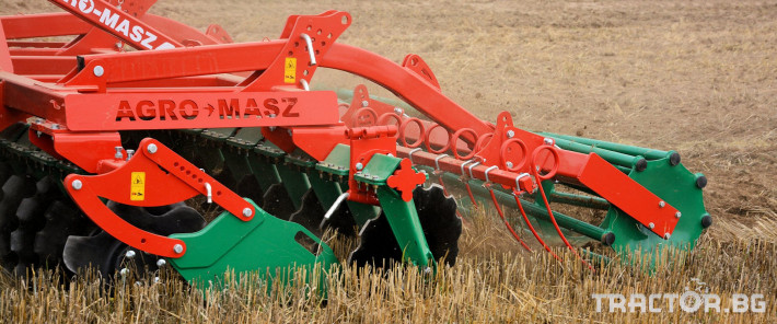 Брани Agro Masz Дискова брана 4 метра 2 - Трактор БГ