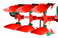 Agro Masz Обръщателен 3-корпусен плуг
