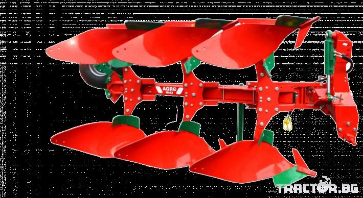 Плугове Agro Masz Обръщателен 3-корпусен плуг 0 - Трактор БГ