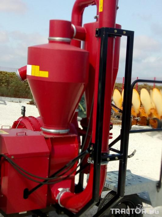 Обработка на зърно Пневматичен зърнотоварач 1 - Трактор БГ