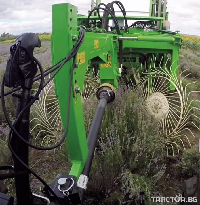 Комбайни Комбайн BONINO за маточина и лавандула 3 - Трактор БГ