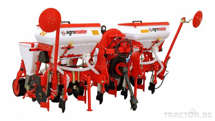 Сеялки Agromaster 6 реда с анкерен апарат и тор 0 - Трактор БГ
