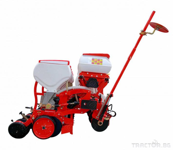 Сеялки Agromaster 6 реда с двойно дисков апарат и тор 1 - Трактор БГ