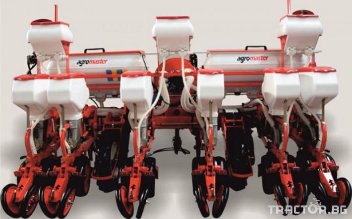 Сеялки Agromaster 6 реда с двойно дисков апарат и тор 3 - Трактор БГ