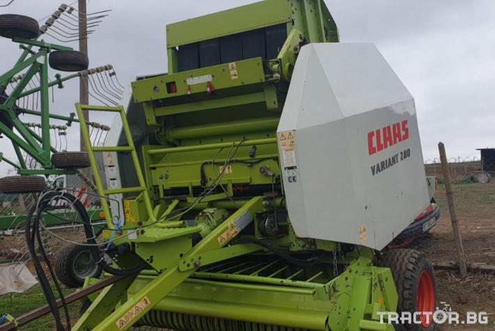 Сламопреси Claas Variant 280 1 - Трактор БГ