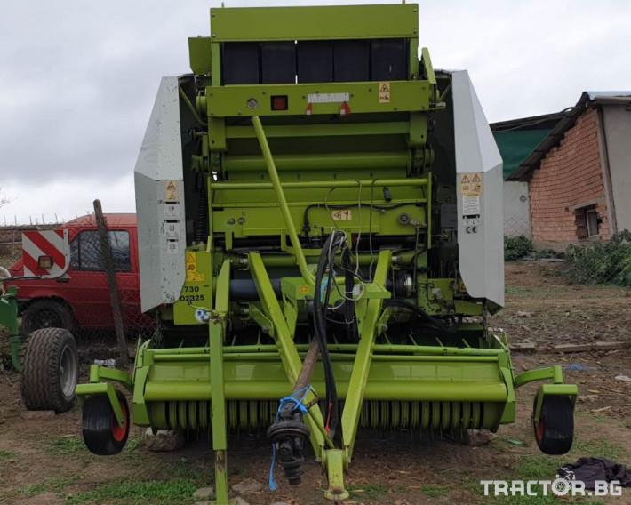 Сламопреси Claas Variant 280 2 - Трактор БГ