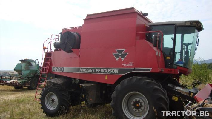 Комбайни Massey Ferguson 8780 1 - Трактор БГ