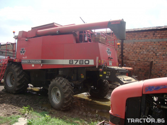 Комбайни Massey Ferguson 8780 4 - Трактор БГ