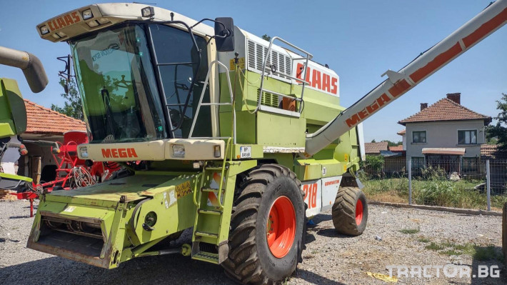 Комбайни Claas MEGA 218 1 - Трактор БГ